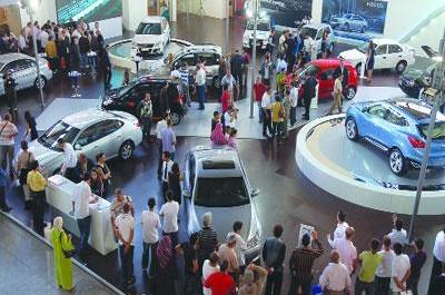 6ème salon de l'automobile de Béjaïa,Les véhicules d'excellence en première ligne