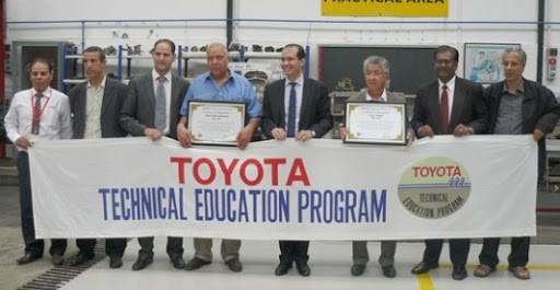 Toyota Algérie ,Signature d'une convention avec les centres de formation professionnelle