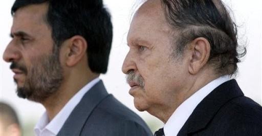 Le Président Bouteflika reçoit l'envoyé spécial du Président iranien