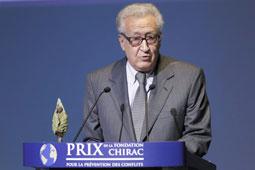 Syrie ,Brahimi veut une trêve pour l'Aïd