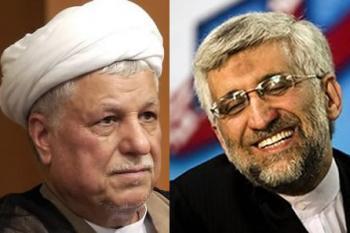 Présidentielle du 14 Juin en Iran,Les poids lourds Jalili et Rafsandjani dans la course