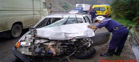 Accidents de la route,Une semaine meurtrière à travers le pays