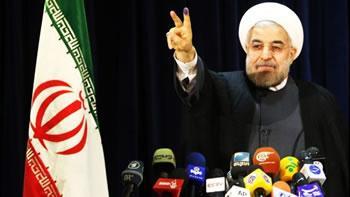 Election présidentielle en Iran,Nette victoire de Hassan Rohani