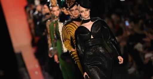 Le défilé Jean Paul Gaultier haute couture automne-hiver 2013-2014