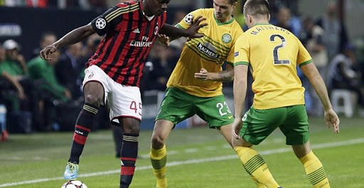AC Milan 2:0 Celtic group H Champions league