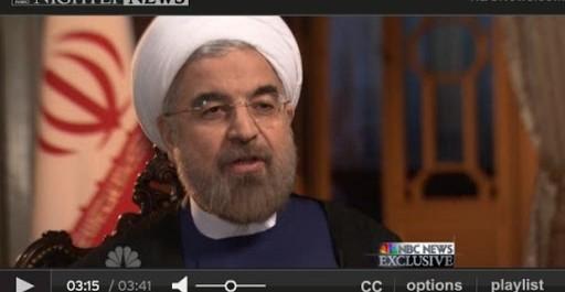 Iran : à la télévision américaine, le nouveau président joue la détente