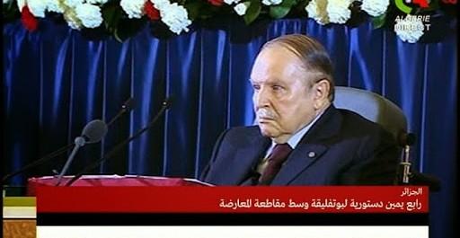 À Alger, le président Bouteflika prête serment pour un quatrième mandat