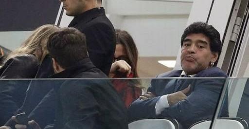 Argentine : Maradona interdit de stade ?