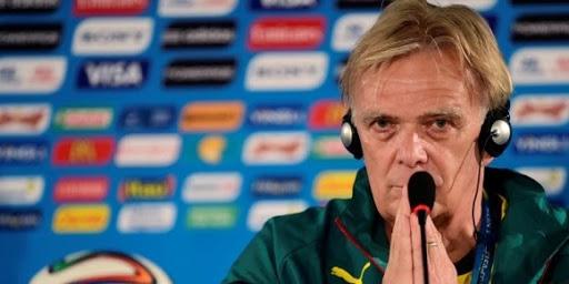 Cameroun – Finke déçu par certains joueurs