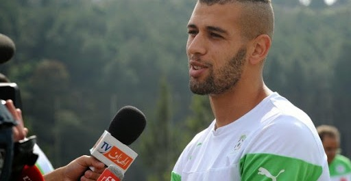 EN : GER-ALG, Slimani, « On veut aller le plus loin possible »