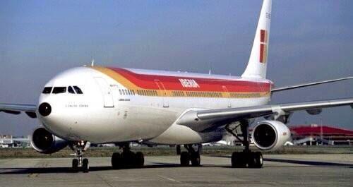 Espagne: L'avion du retour frappé par la foudre