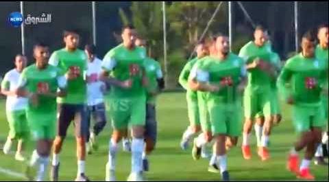 Message de bouteflika aux joueurs de l'équipe nationale avant le match contre l'Allemagne