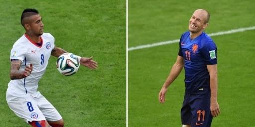 Pays-Bas-Chili pour… éviter le Brésil