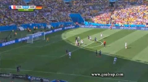 Allemagne 1 – 0 France