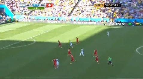 Argentine 1 – 0 Suisse
