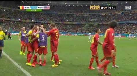 Belgiqeu 2 – 1 USA