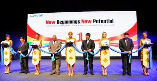 FAW inaugure sa nouvelle usine en Afrique du Sud