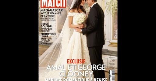 Amal et george clooney, mariage romantique à venise