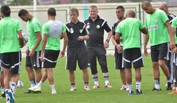 Algérie 2-0 Sénégal – les coulisses du match de la qualification premier tour CAN 2015