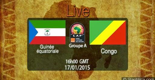 Guinée équatoriale – Congo en direct streaming live 17/01/2015 à 17:00- Can2015