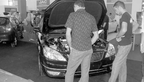 Alger Safex : Nette amélioration des véhicules chinois
