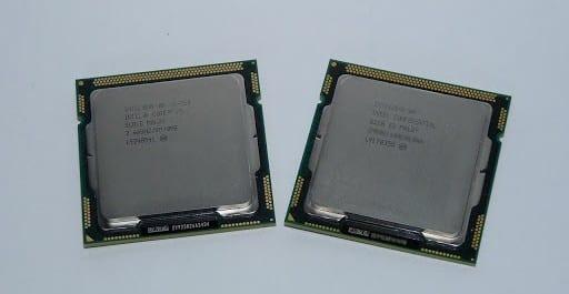 Test : Intel Core i3 540 et Core i5 750