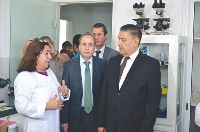 """VIsite hier d'Abdelmalek Boudiaf à l'institut national de santé publique: """"L'Institut Pasteur doit cesser d'être un Epic d'importation"""""""