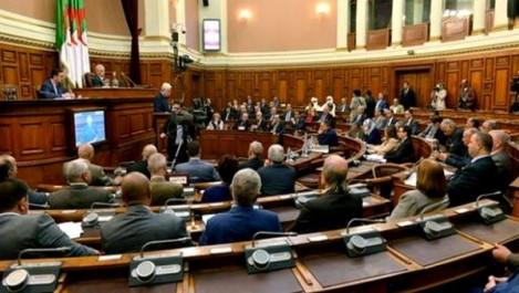 Conseil de la Nation : Séance plénière aujourd'hui consacrée aux questions orales.