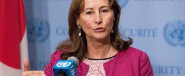 Ségolène Royal en visite en Algérie à l'occasion du Forum International de l'Energie
