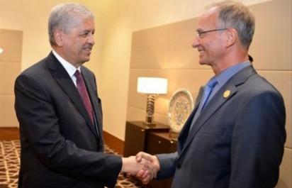 Sellal reçoit le ministre néerlandais des Affaires économiques