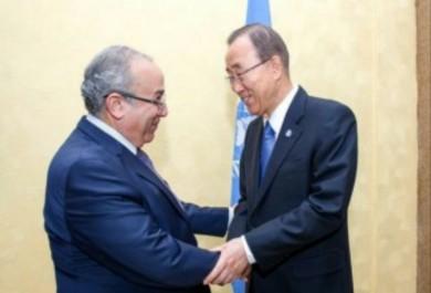 Lamamra transmet un message du président Bouteflika à Ban Ki-Moon