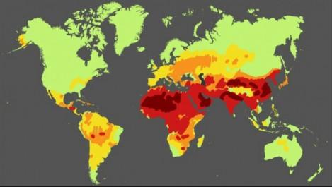 Infographie : 92% de la population mondiale respire un air trop pollué
