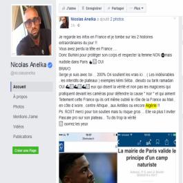 Anelka fustige la France et rappelle ses crimes en Afrique et en Algérie
