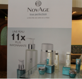 Lancement de la nouvelle gamme de produits de soins de la peau « NovAge » by Oriflame