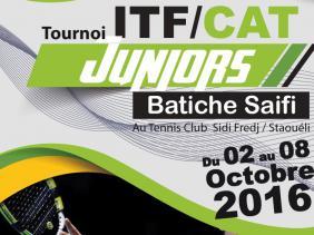 Tournoi ITF juniors »Batiche Saïfi» : 15 nations présentes à Sidi-Fredj