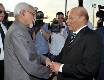 Le Vice-président de l'Inde entame une visite officielle en Algérie