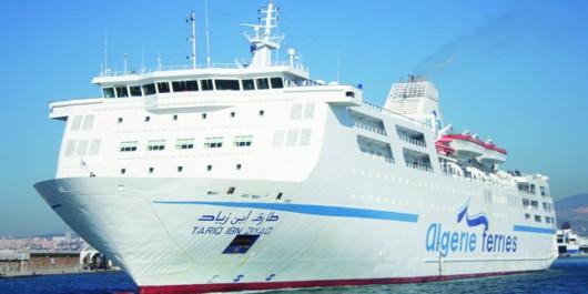 Été 2016: Plus de 58.000 passagers sur les lignes maritimes Mostaganem-Valence-Alicante