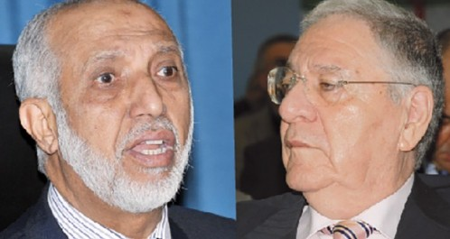 Les propos tenus par l'ex-SG du FLN ne sont pas du goût du nouveau patron du parti : Belkhadem provoque Ould Abbès.