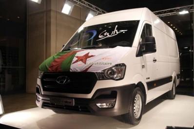 Global Motors Industrie lance le Hyundai H350: Premier fourgon de la marque assemblé en Algérie.