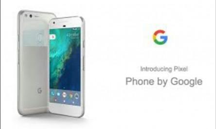Pixel, le nouveau smartphone 100% Google
