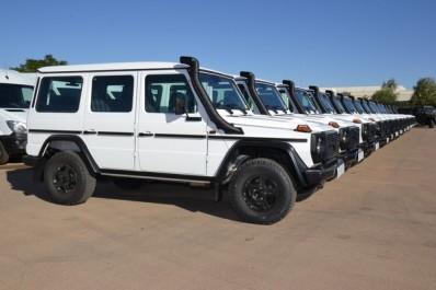 Le MDN réceptionne 327 véhicules Mercedes-Benz fabriqués à Tiaret