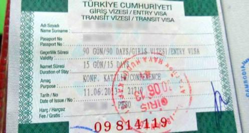 Turquie: la prestation de services des visas assurée dorénavant par VFS Global