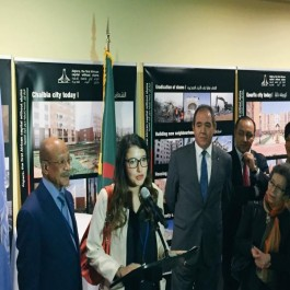 Zoukh à New-York pour une exposition sur l'eradication de l'habitat précaire à Alger