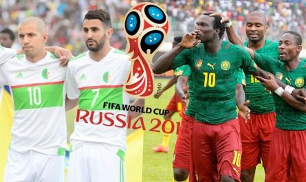 Liste des chaines qui diffuseront le match Algérie – Cameroun 09 octobre 2016 à 20:30