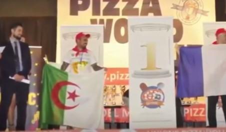 Un algérien arrivé troisième dans un concours international de la pizza à Rome