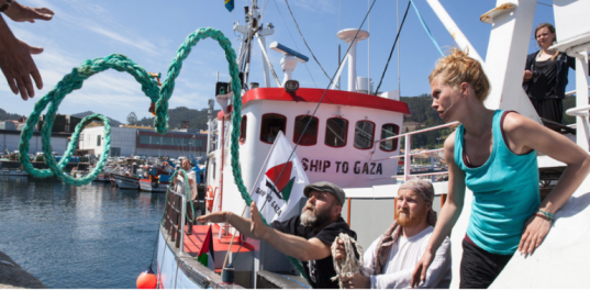 Le «bateau des femmes» s'approche des côtes de Ghaza pour tenter de briser le blocus