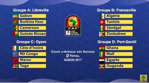 CAN 2017: l'Algérie dans un groupe B abordable