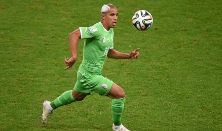 Sofiane Feghouli sacré meilleur joueur Africain.