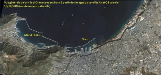 Premières images des satellites algériens Alsat-2B et Alsat-1B