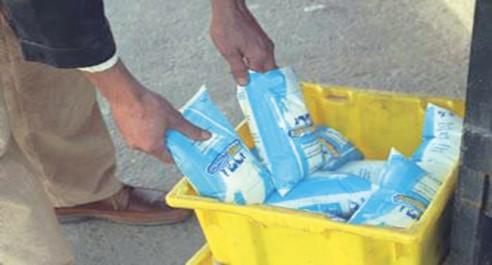 Tiaret: Le lait en sachet, une vraie denrée rare